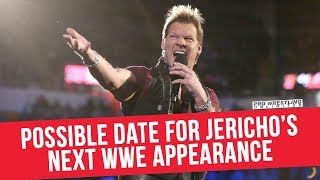 Possible Date For Chris Jericho's Next WWE Appearance