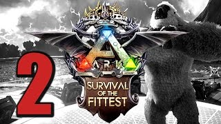 Ark Survival of the Fittest #2 ALLES GEHT SCHIEF! [Gameplay German | Let