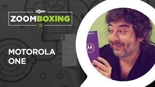 Motorola One - LANÇAMENTO - UNBOXING | ZOOMBOXING