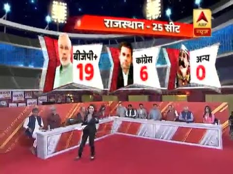 ABP Exit Poll 2019: BJP likely to win 19 seats in Rajasthan