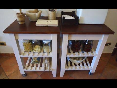 Rinnovo Carrelli IKEA BEKVAM . DIY