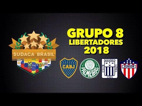 Sudaca Brasil - Grupo 8 - Copa Libertadores 2018