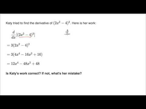 Correcting work on derivative strategies