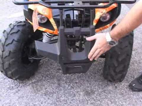 Coolster 125cc Kids Atv Utility 4 Wheeler
