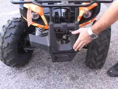 COOLSTER 125CC KIDS ATV UTILITY 4 WHEELER - YouTube