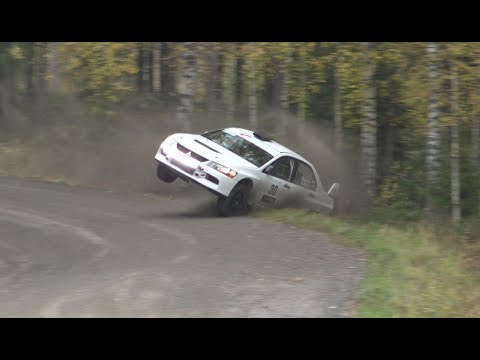 SM Lake City Rally 2017, Lempäälä crash & action