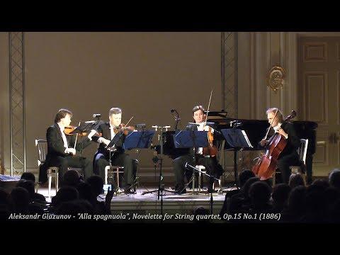 "Aleksandr Glazunov - ""Alla Spagnuola"", Op.15 No.1 (1886)"