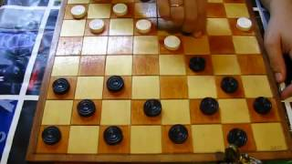 """Как играют юные шашисты. Дебют """"Отыгрыш"""". Шашки. Ошибки и комбинации. Творчество. Art."""
