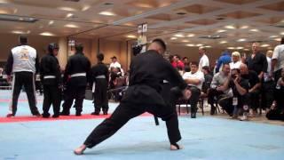 Larry Garcia MIKKA Adult Kenpo Forms at Golden Gate Internationals.MP4