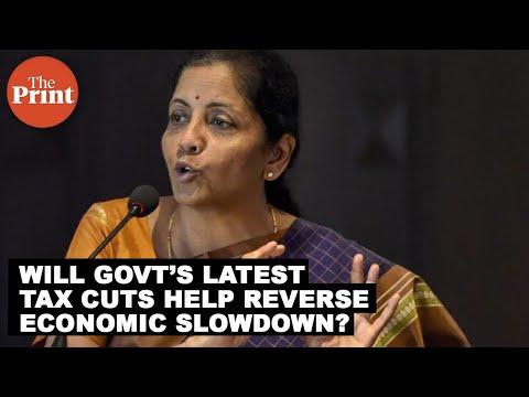 Will govt's latest tax cuts help reverse the economic slowdown ?
