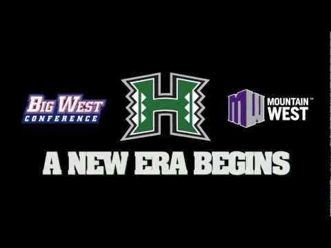 UH Athletics Enter The Big West & Mountain West Conferences
