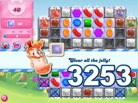 Candy Crush Saga Level 3253 (3 stars, No boosters)