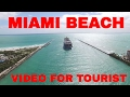 MIAMI BEACH & FISHER ISLAND VIDEO IN 4K GREAT FOR TOURIST (MUST SEE)