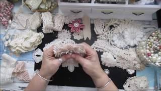 Handmade Scrap Flowers Tutorial - jennings644