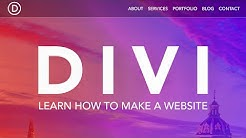 How To Create A WordPress Website 2019 | Divi Theme
