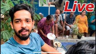 🔴Live ആയി എന്റെ മീനുകളേം കിളികളേം കാണിക്കാം | first Malayalam live stream feeding exotic fish