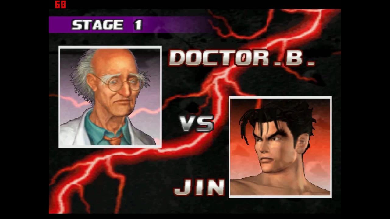 Tekken 3 Dr Boskonovitch Secret Moves | Tekken 3 Dr Boskonovitch