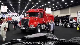 Обзор американской выставки ''всё для грузовиков'' Mid America Trucking Show   MATS 2016