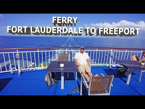 Ferry from Fort Lauderdale to Freeport - HD