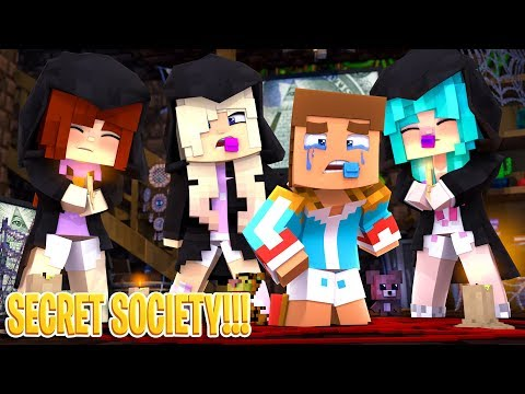 Our Baby Daughter forms a SECRET SOCIETY!! Minecraft Adventure