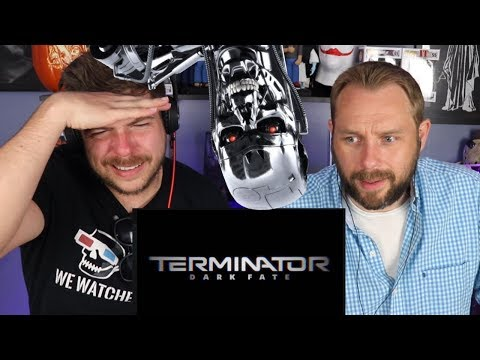 TERMINATOR: DARK FATE TRAILER REACTION & REVIEW