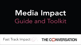 Media Impact Guide and Toolkit - Webinar