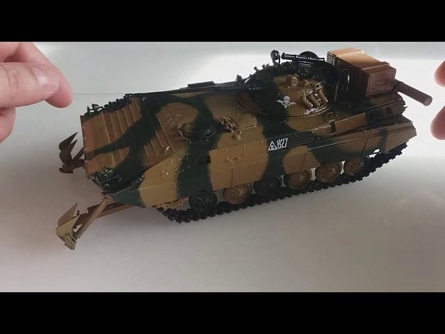 Сборка советской БМП-2Д - Звезда 1:35 3555 - часть 6