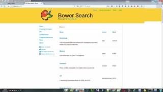 how to install bower on windows 7