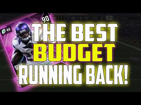 90 ADRIAN PETERSON IS THE BEST BUDGET RB RIGHT NOW!! MADDEN 18 ULTIMATE TEAM
