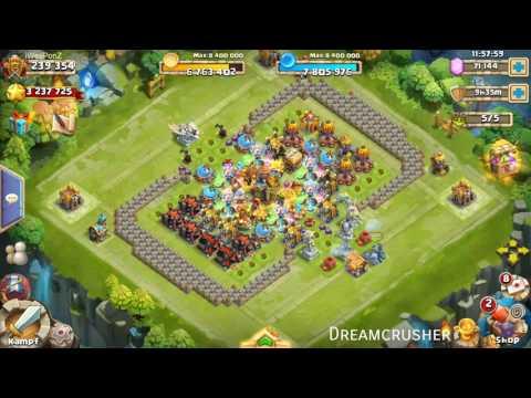 Castle Clash - 30k Gems Für Ronin, Anubis Oder Lady Boom + Events | IWeaPonZ