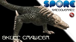SPORE: Kong Skull Island Skull Crawler (No mods::Timelapse::Creepy and Cute)