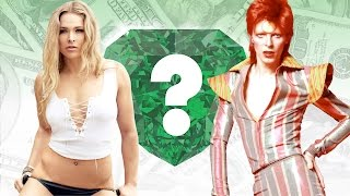 WHO'S RICHER? - Ronda Rousey or David Bowie? - Net Worth Revealed!