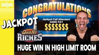 😱 HUGE Jackpot Win! 💰 Sweet High Limit @ Las Vegas ✪ BCSlots (S. 19 • Ep. 5)