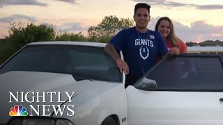 Siblings Surprise Dad With Beloved Ford Mustang He Sold To Pay Medical Bills | NBC Nightly News