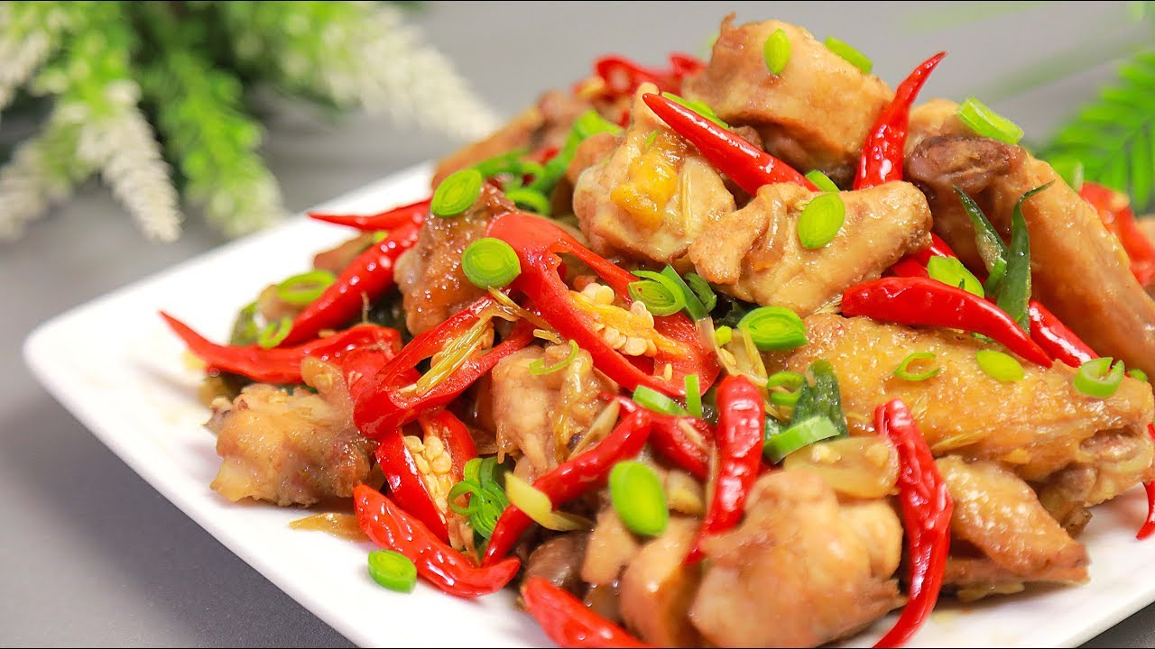 Stir Fry Chicken Spicy Stir Fry Chicken With Lemongrass Lemongrass Chicken Youtube