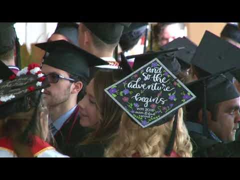 WPI 2018 Undergraduate Commencement Ceremony