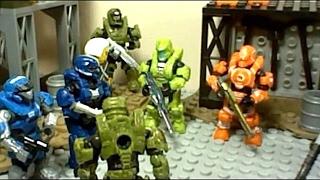 (Part 1) Halo Megabloks War Stopmotion The Wrath of Atriox