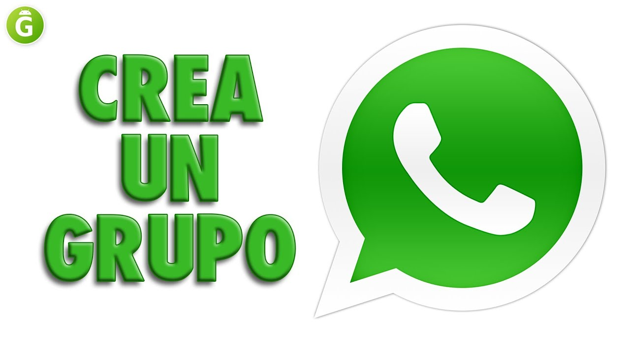 Tutorial Crear Grupo De Whatsapp