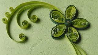 Paper Quilling Greeting Cards | Flower Hand Works | HandiWorks #12