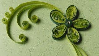 Paper Quilling Greeting Cards | Flower Hand Works | HandiWorks #12
