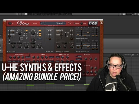 U-he Synth bundle - Diva, Repro, Satin | Native Instruments Crazy Deal