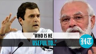 Watch: Rahul Gandhi's 'useless & useful' comment at PM Modi