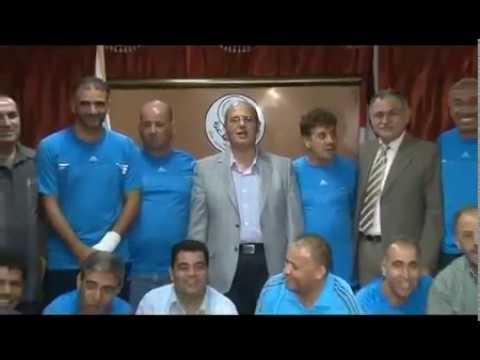 Thumbnail for بعثة قدامى الفيصلي في الجامعة الاسلامية ضمن برنامج الزيارة لكسر الحصار عن غزة عام 2012
