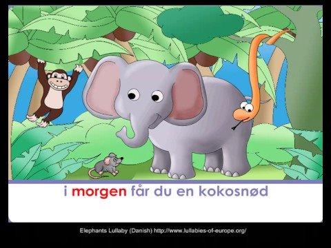 Elephants Lullaby (Danish) 1of 7