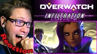 "Overwatch Animated Short | ""Infiltration"" REACTION! 