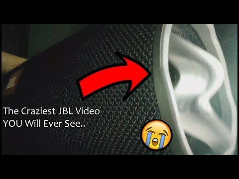 JBL XTREME | MAX BASS OUTPUT | PASSIVE RADIATOR FLEX 100% VOLUME | AC MODE [Low Frequency Mode]