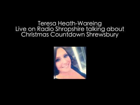 Christmas Countdown Shrewsbury - Teresa on BBC Radio Shropshire