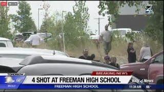 1 dead, 3 injured in Washington school shooting