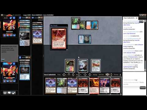 #thedailywars #21 - Legacy Grinding Station League Match 4 vs. Grixis Delver