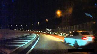 [首都高] ルーレット族 本気組?japanese street racing in shutoko highway thumbnail